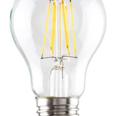 Levné LED diodové žárovky: LED filamentová žárovka, E27, A60, 7W, teplá bílá
