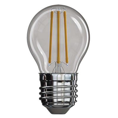 Levné Žárovky a zářivky: LED filamentová žárovka, E27, Mini, 4W, 465lm, 2700K, teplá bílá