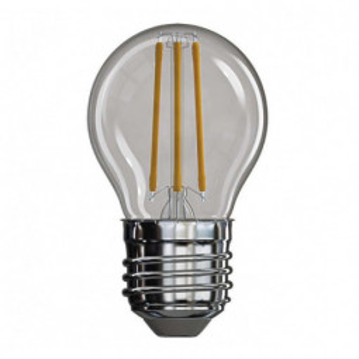 Levné Žárovky a zářivky: LED filamentová žárovka, E27, Mini, 4W, 465lm, 4100K, neutrální bílá / denní světlo
