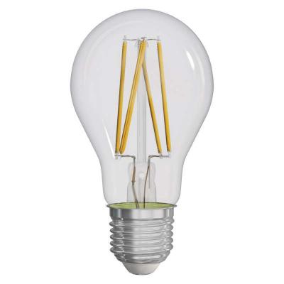 Levné Žárovky a zářivky: LED filamentová žárovka, A60, E27, 8W, teplá bílá