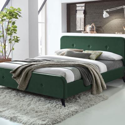 Levné Postele: Čalouněná postel bez matrace MELAN III