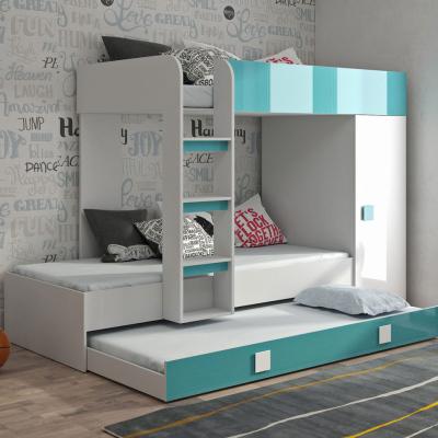 Levné Patrové postele pro děti: Dětská patrová postel Lesly I + matrace