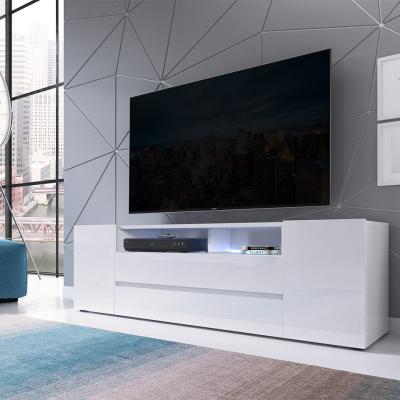 Levné Televizní stolky: Prostorný televizní stolek MAKAR