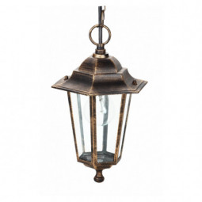 Levné Venkovní osvětlení: Venkovní závěsné svítidlo VICENZA R, zlatá patina