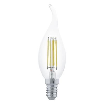 Levné Žárovky a zářivky: LED žárovka, E14, 4 W, teplá bílá (plápolající svíčka)