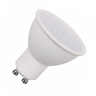 Levné LED žárovky: LED žárovka GU10, 7W, teplá bílá