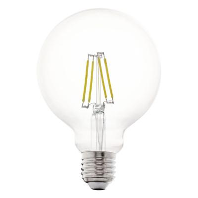 Levné Žárovky a zářivky: LED žárovka G95, E27, 4 W, teplá bílá