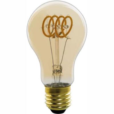 Levné Žárovky a zářivky: LED stmívatelná filamentová žárovka, 4W, 200lm, 2000K, teplá bílá