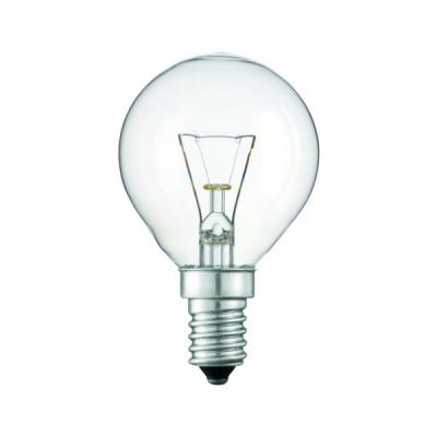 Levné Žárovky a zářivky: Klasická žárovka E14, P45, 25W, 190lm, 240V