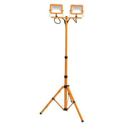 Levné LED halogeny (reflektory): LED reflektor s trojnohýmstativem, 2x30W, 4000K, 4200lm WORK