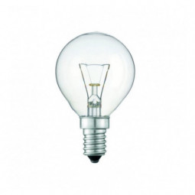 Levné Žárovky a zářivky: Klasická iluminační žárovka E14, P45, 60W, 640lm, teplá bílá