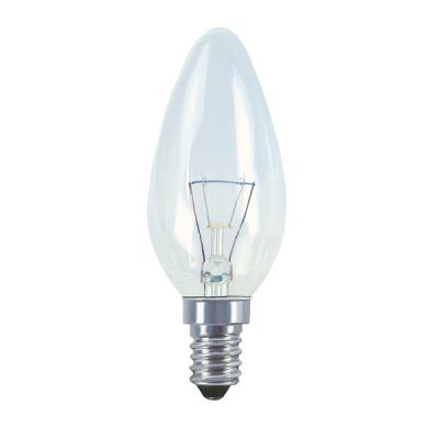 Levné Žárovky a zářivky: Klasická svíčková žárovka E14, 60W, 640lm, teplá bílá