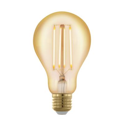 Levné LED diodové žárovky: Retro stmívatelná LED žárovka EGLO, E27, 4W, teplá bílá