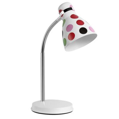 Levné Stolní lampy a lampičky: Stolní dětská lampa FANDA, barevné puntíky