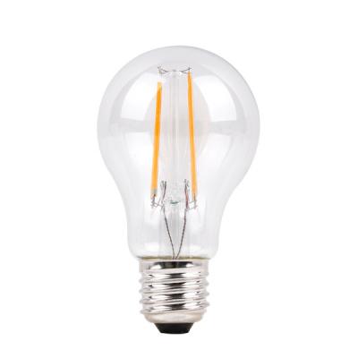 Levné LED diodové žárovky: Stmívatelná filament žárovka, E27, A60, 6W, teplá bílá