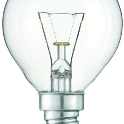 Levné Žárovky a zářivky: Klasická žárovka pro průmyslové použití, P45, 40W, 390lm, teplá bílá