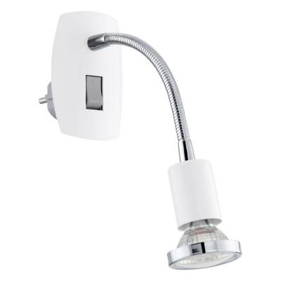 Levné Nástěnná svítidla s vypínačem: LED svítidlo do zásuvky MINI 4, bílé