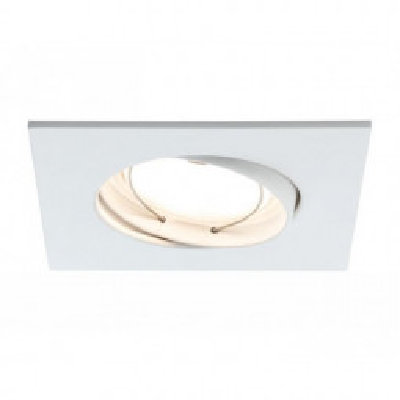 Levné Stropní svítidla: Zápustné svítidlo LED COIN satin, sada 3x, bílé