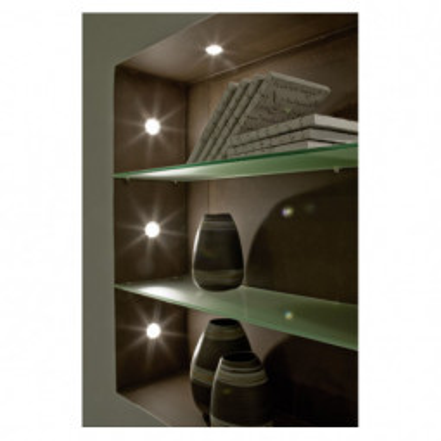Levné Stropní svítidla: Zápustné bodové LED svítidlo PENETO, sada 3x, bílé
