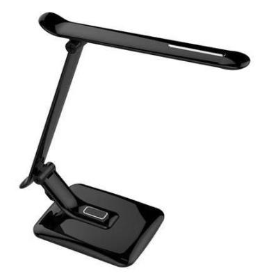 Levné Lampy a lampičky: LED moderní stolní lampička do kanceláře, černá