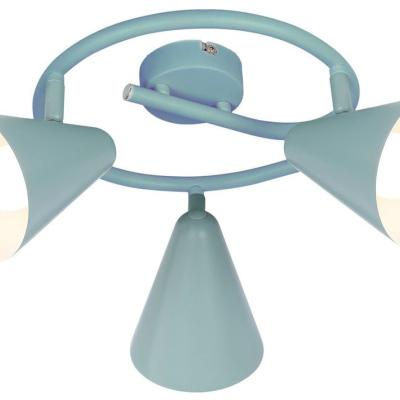Levné Stropní svítidla: Stropní bodové dětské svítidlo AGOSTINO, modré