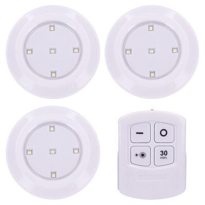 Levné Orientační svítidla: Solight LED světélka s dálkovým ovládáním, časovač, bílá