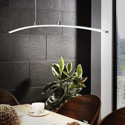 Levné Lustry a závěsná svítidla: Závěsný LED lustr LASANA, bílý