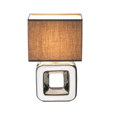 Levné Lampy a lampičky: Designová stolní lampa KILAUEA, šedá
