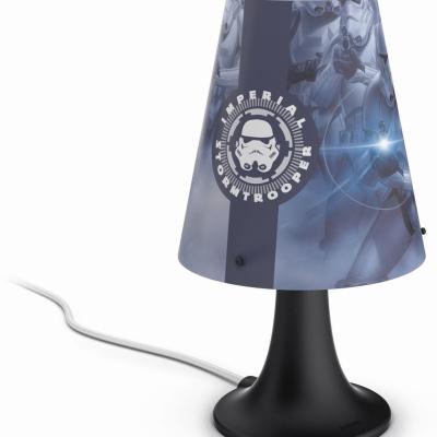 Levné Dětské stolní lampičky: Stolní LED lampička do dětského pokoje Disney STAR WARS