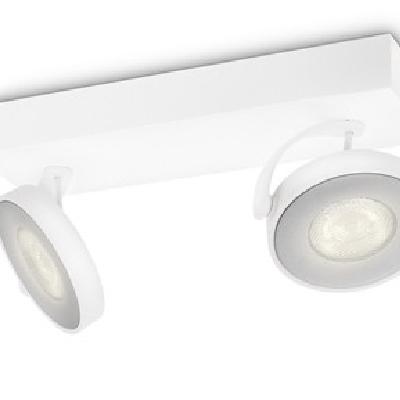 Levné Stropní svítidla: Bodové LED stropní světlo CLOCKWORK, bílé, 1000lm, 2700K