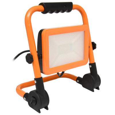 Levné LED halogeny (reflektory): LED reflektor s podstavcem, 100W, 4000K, 8000lm WORK