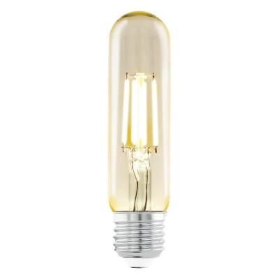 Levné LED diodové žárovky: Retro LED žárovka EGLO, E27, 3,5W, teplá bílá