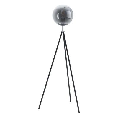 Levné Stojací lampy: Podlahová lampa trojnožka v moderním stylu ISORELLA, černá