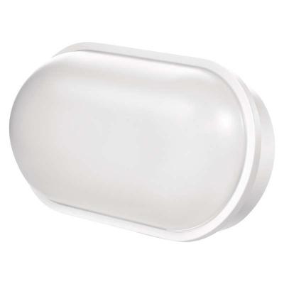 Levné Stropní svítidla: Nástěnné LED osvětlení do koupelny BATHINO, 20W, denní bílá, oválné, IP65, bílé