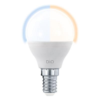 Levné LED žárovky: Stmívatelná LED žárovka, E14, P45, 5W, včetně ovladače