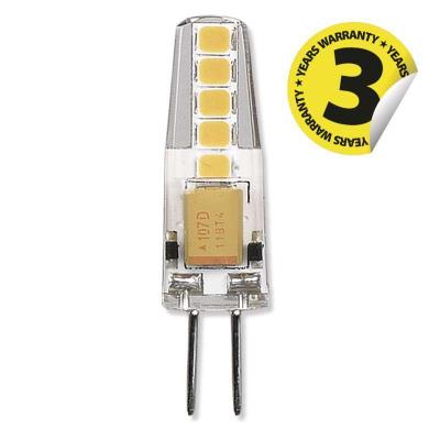 Levné Žárovky a zářivky: LED žárovka, G4, 2W, teplá bílá