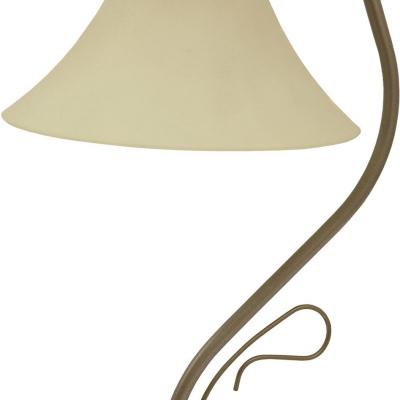 Levné Lampy a lampičky: Stolní lampa v rustikálním stylu VICTORIA, zlatá