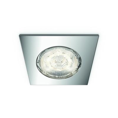 Levné Stropní svítidla: LED podhledové bodové osvětlení do sprchy DREAMINES, hranaté