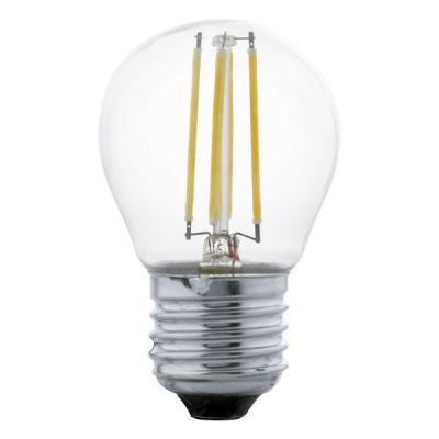 Levné Žárovky a zářivky: LED žárovka, E27, 4 W, teplá bílá, (čirá)