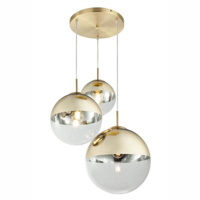 Levné Lustry a závěsná svítidla: Závěsné osvětlení VARUS, zlatá