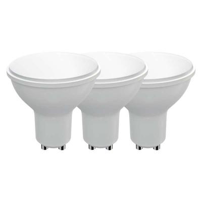 Levné Žárovky a zářivky: Sada LED žárovek, GU10, 4,5W, teplá bílá, 3 ks