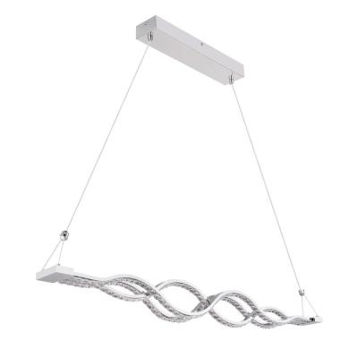 Levné Lustry a závěsná svítidla: Designový LED lustr nad jídelní stůl PILLA