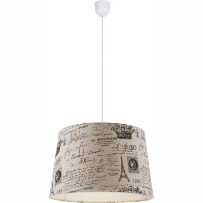 Levné Lustry na lanku: Závěsné moderní svítidlo se vzorem METALIC, béžová