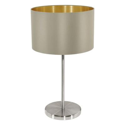 Levné Lampy a lampičky: Stolní svítidlo MASERLO, hnědá