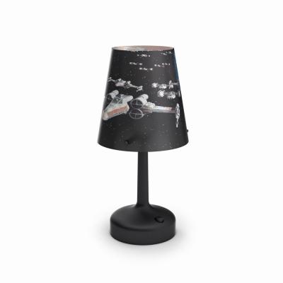 Levné Dětské stolní lampičky: LED dětská stolní lampička na baterie Disney STAR WARS, kosmická loď