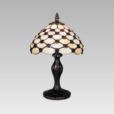 Levné Lampy a lampičky: Stolní vitrážová lampička TIFFANY