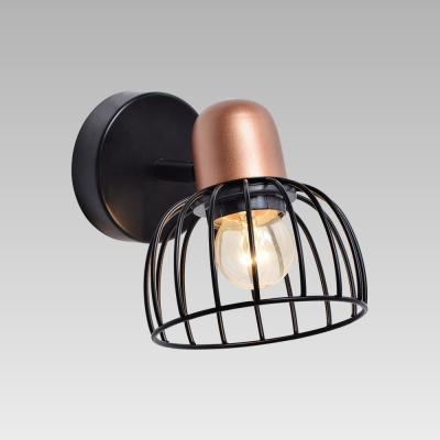 Levné Nástěnná svítidla: Bodové industriální nástěnné světlo BASKET