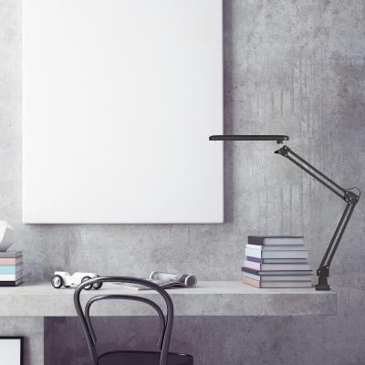 Levné Stolní lampy a lampičky: Stolní lampa RAUL, černá