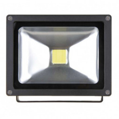 Levné LED halogeny (reflektory): LED reflektor HOBBY, 20W neutrální bílá