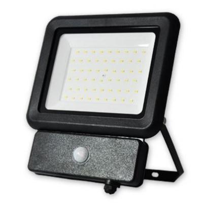 Levné LED halogeny (reflektory): Pracovní LED refletor s čidlem DARIOS, 50W, neutrální bílá